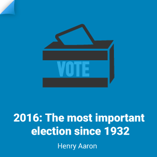 Henry Aaron: The most important election since 1932