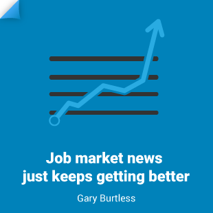 Gary Burtless: Job Market Racks Up Fast Gaines in Long, Slow Recovery